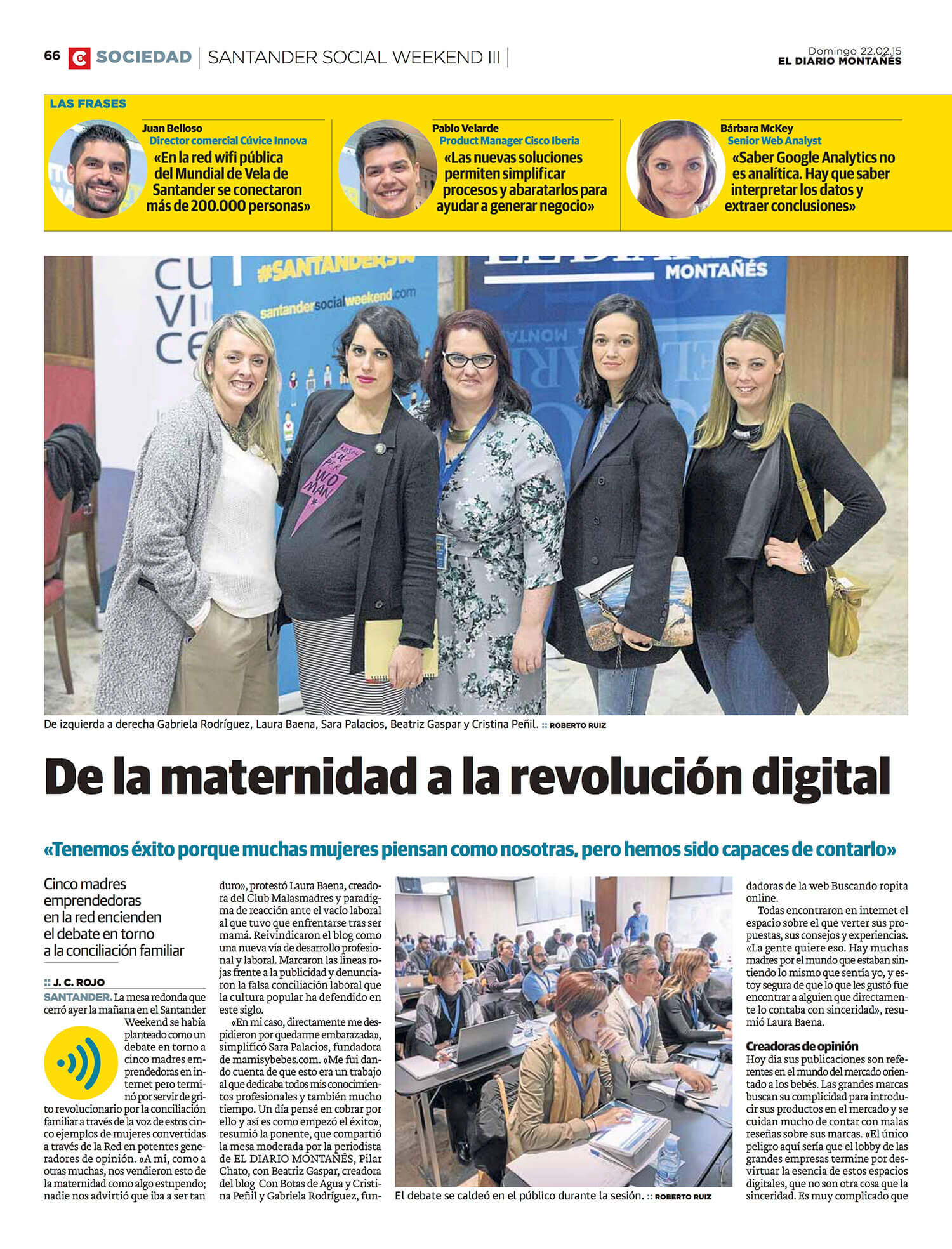 Santander Social Weekend: Presentación de Cúvice y Cisco Meraki #SantanderSW