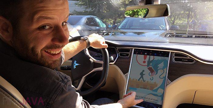 Roban un Tesla Model S utilizando WiFi Gratuito